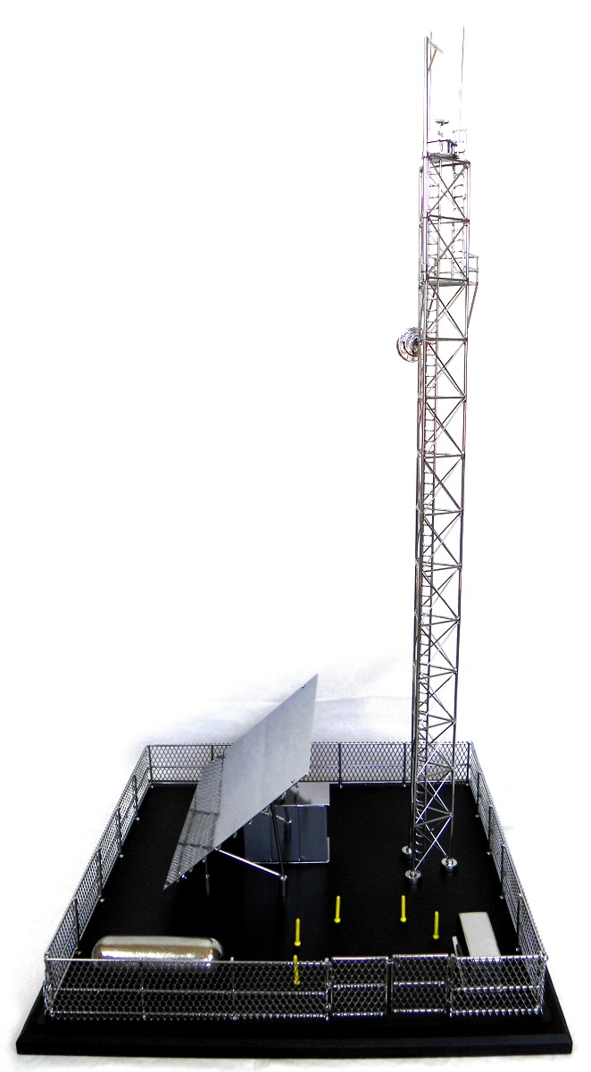 Custom Pewter Casting Scale Model Drilling Rigs Standard